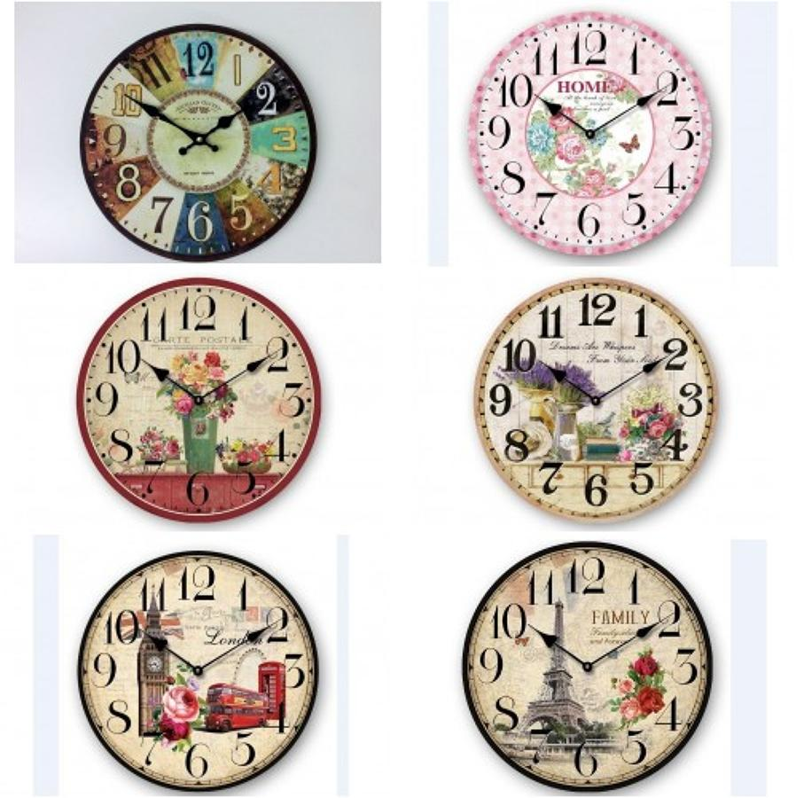 Rustic Wall Clocks