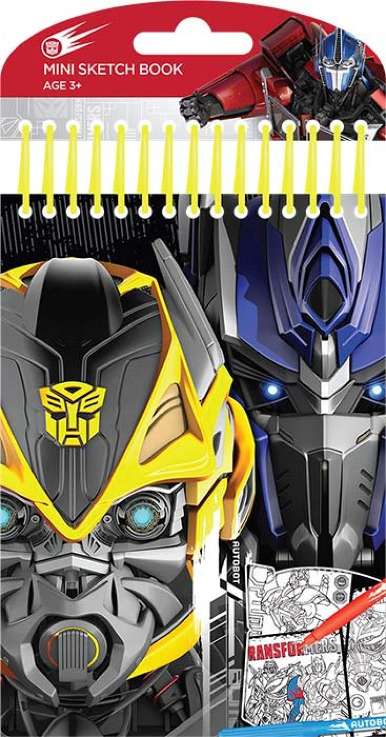 Transformers Mini Sketch Book