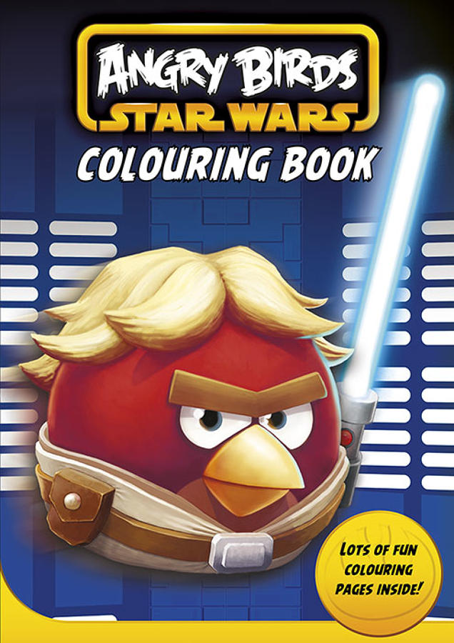 Angry Birds Colouring Book