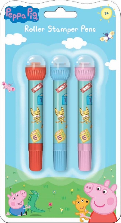 Peppa Pig Roller Stamper Pens