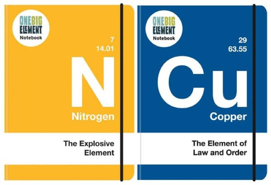 One Big Element A6 Book