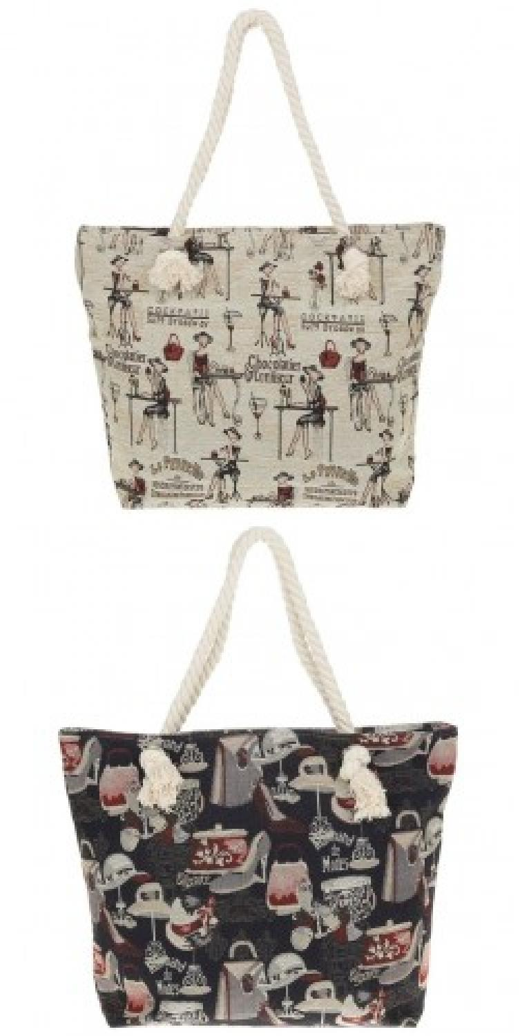 Equilibrium Parisienne Tapestry Bag