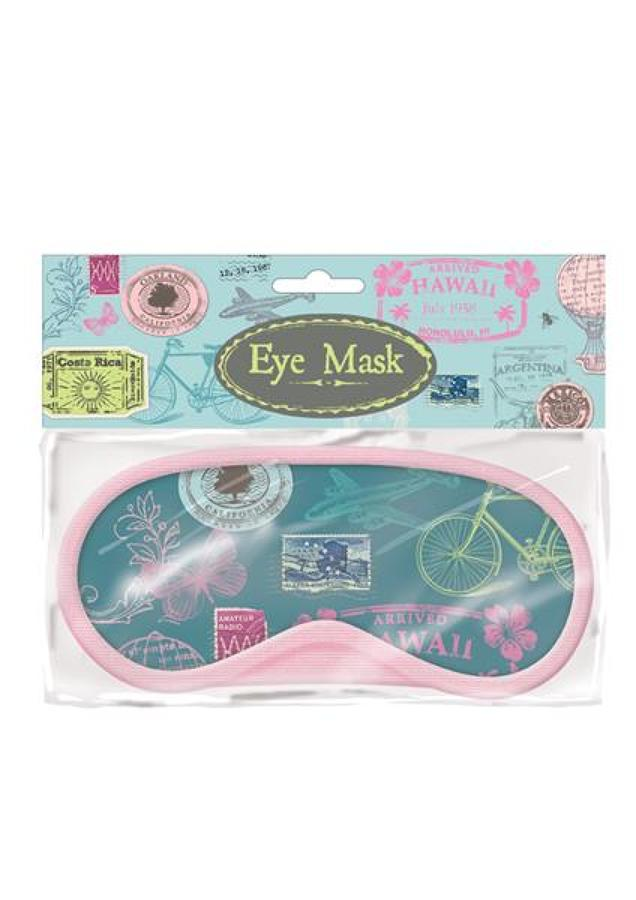 Stamp Design Eye Mask