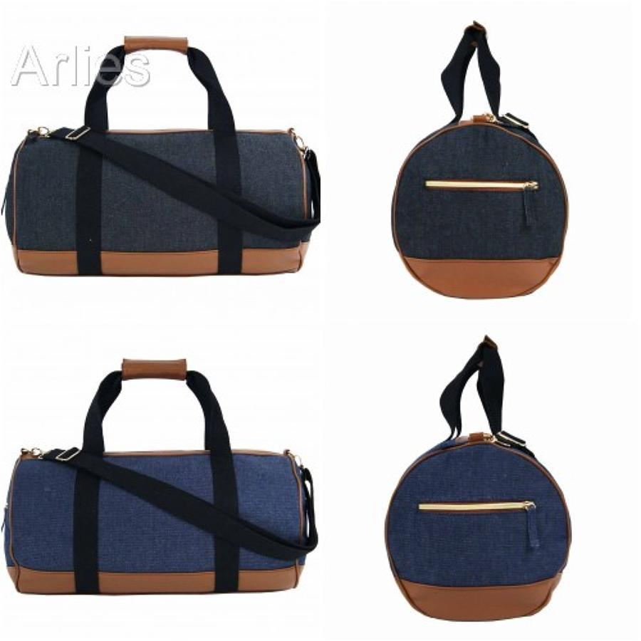 Denim Canvas Duffel Bag/Holdall