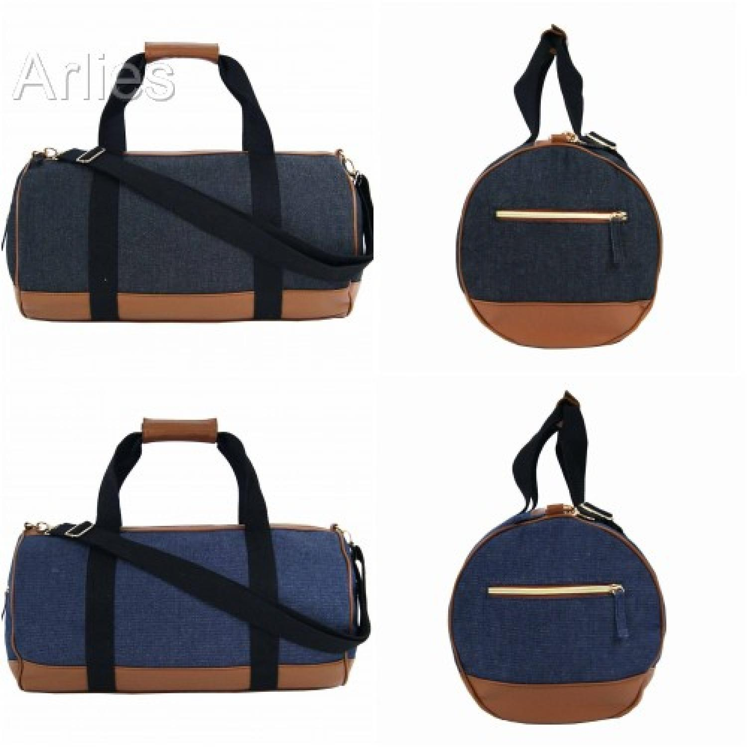Denim Canvas Duffel Bag/Holdall