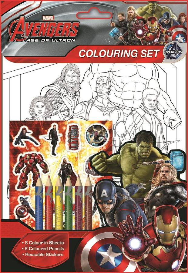 Age of Ultron Colouring Set