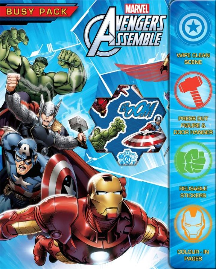 Busy Pack - Avengers Assemble