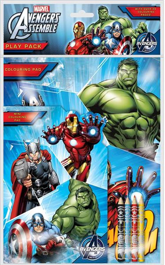 Play Pack - Avengers Assemble