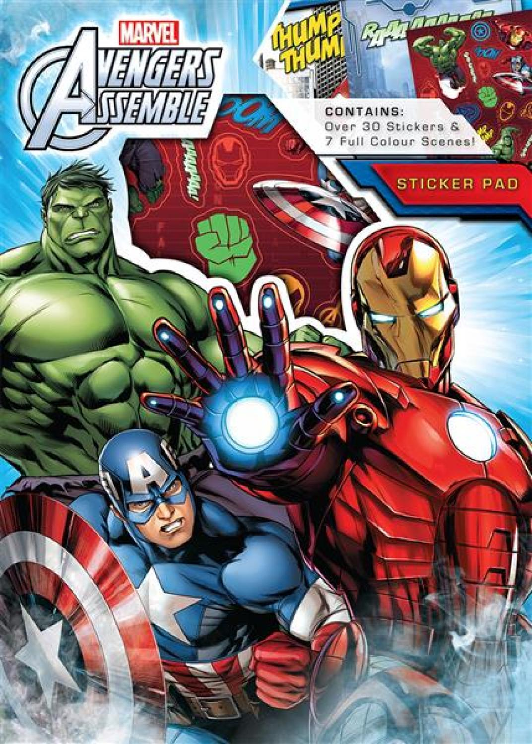 Sticker Pad - Avengers Assemble