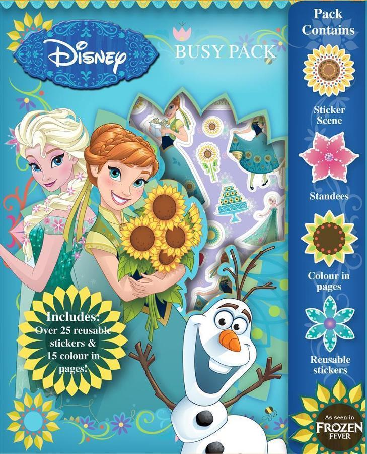 Busy Pack - Frozen Fever