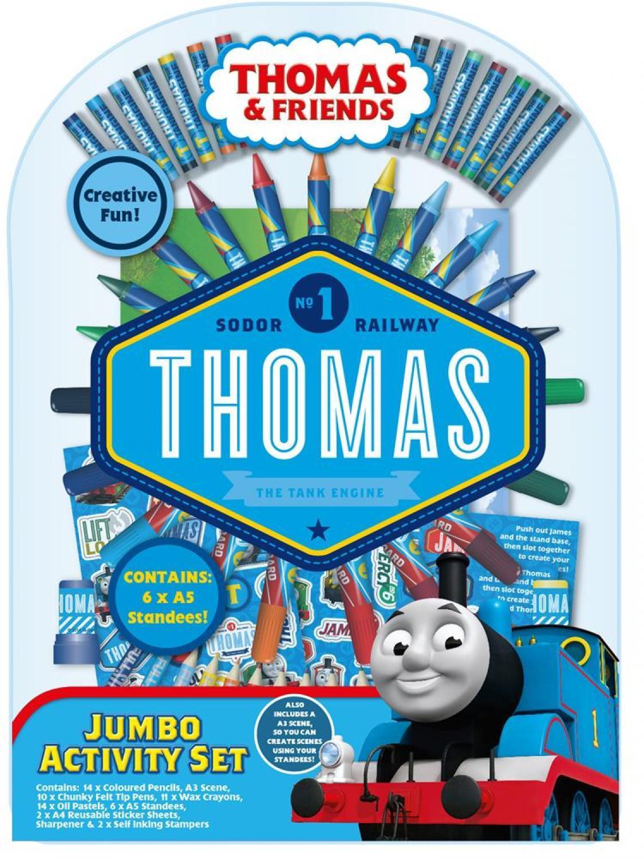 Thomas & Friends Jumbo Activity Set