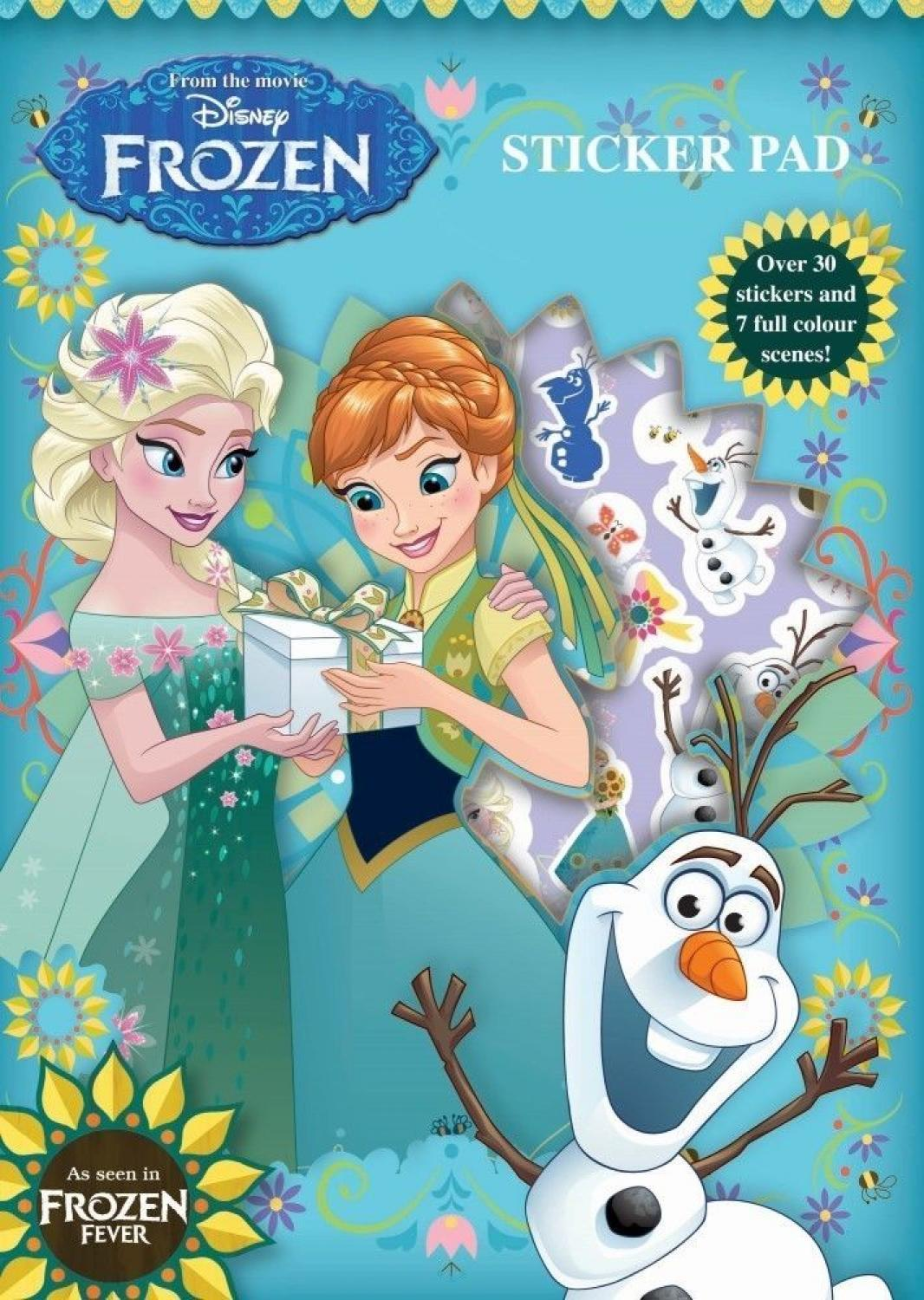 Sticker Pad - Frozen Fever
