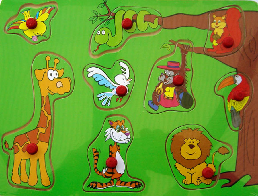 Jungle Animals - PZD95