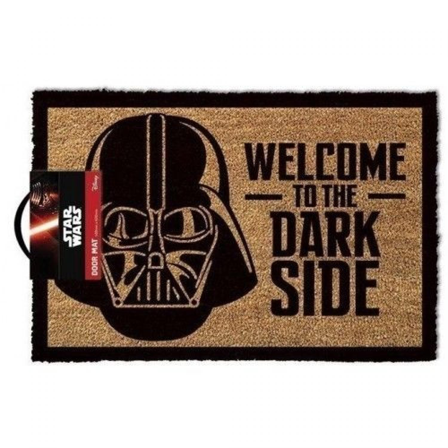Welcome to the Dark Side Coir Mat