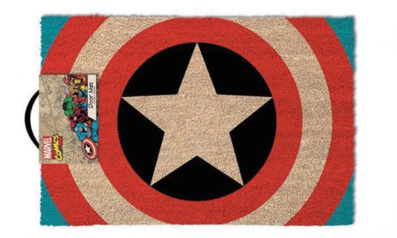 Captain America Coir Mat