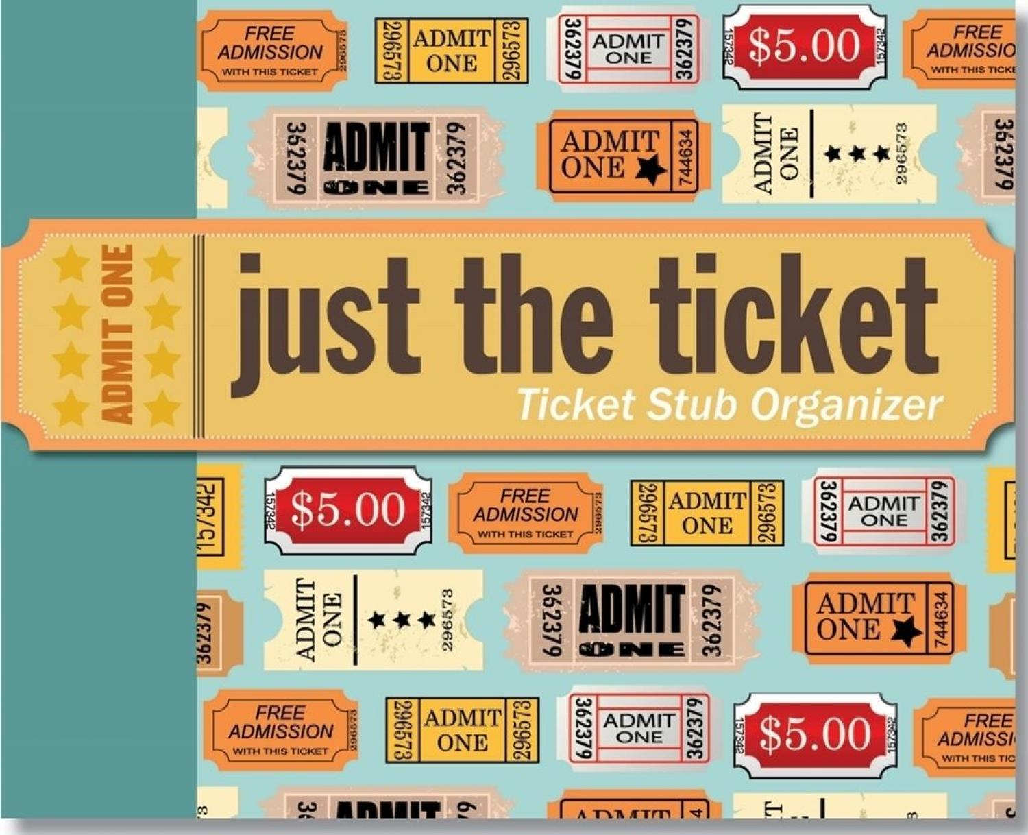 Just the Ticket Stub Organiser