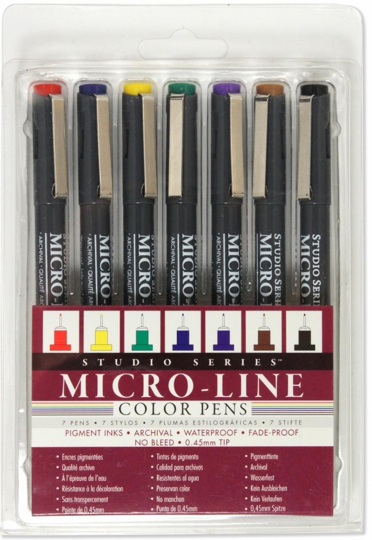 Studio Series Micro Line Colour Pens