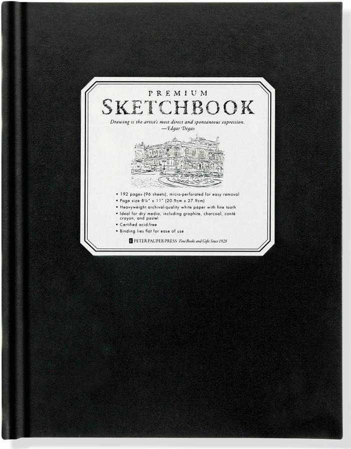 Large Premium Sketch Book
