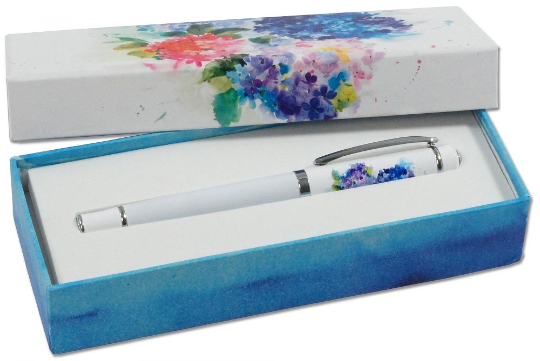 Hydreangeas Rollerball Pen
