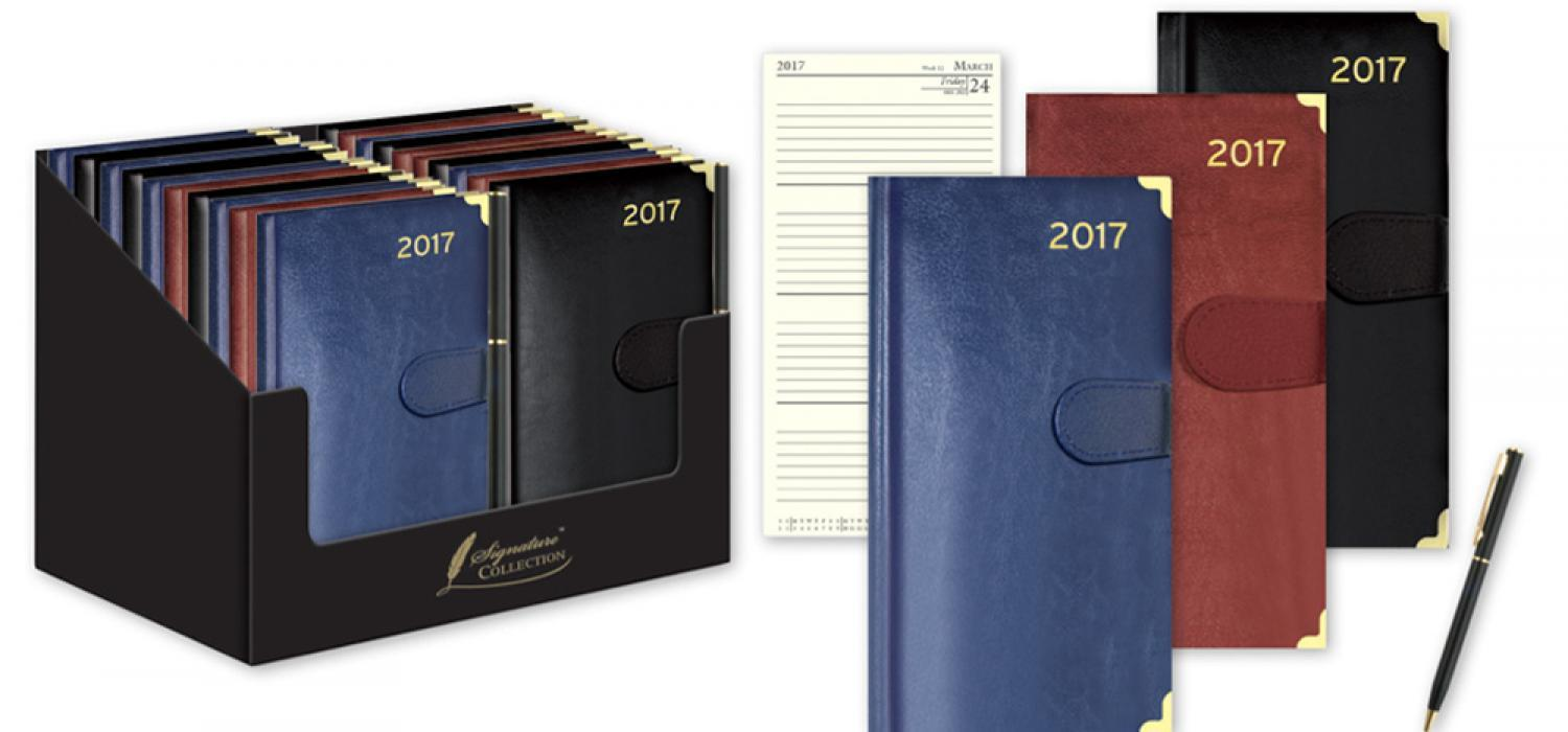 Pocket and Slim Premium Diary with Pen
