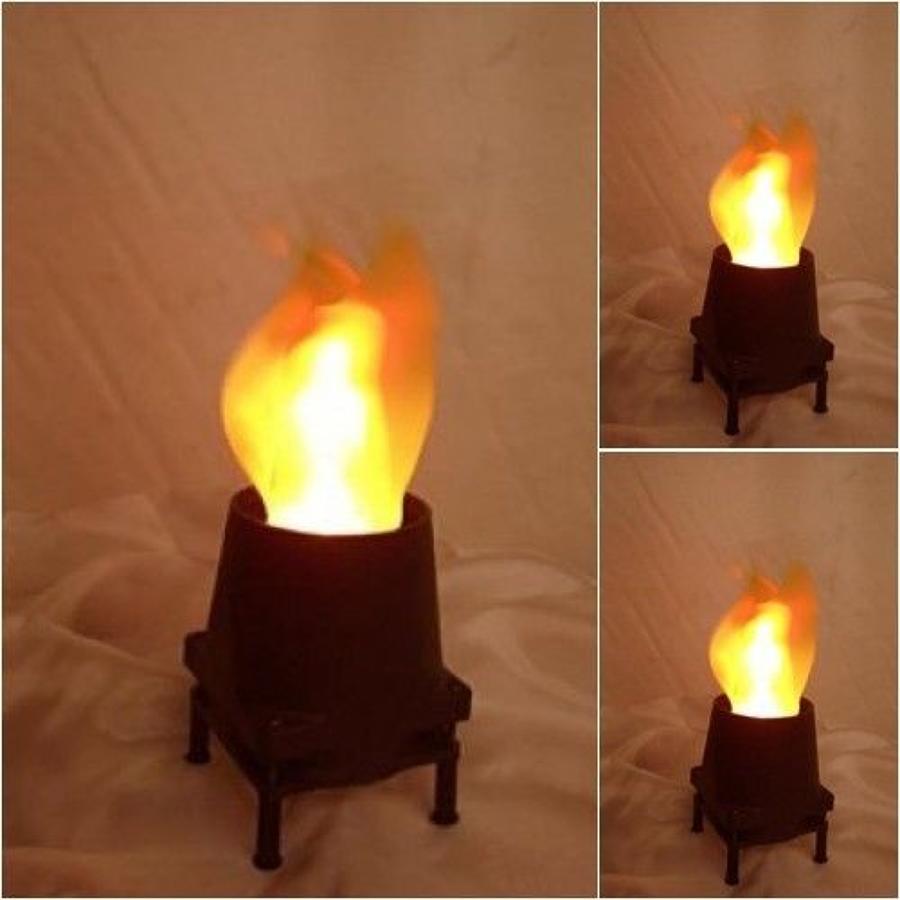 Silk Flame Lamp