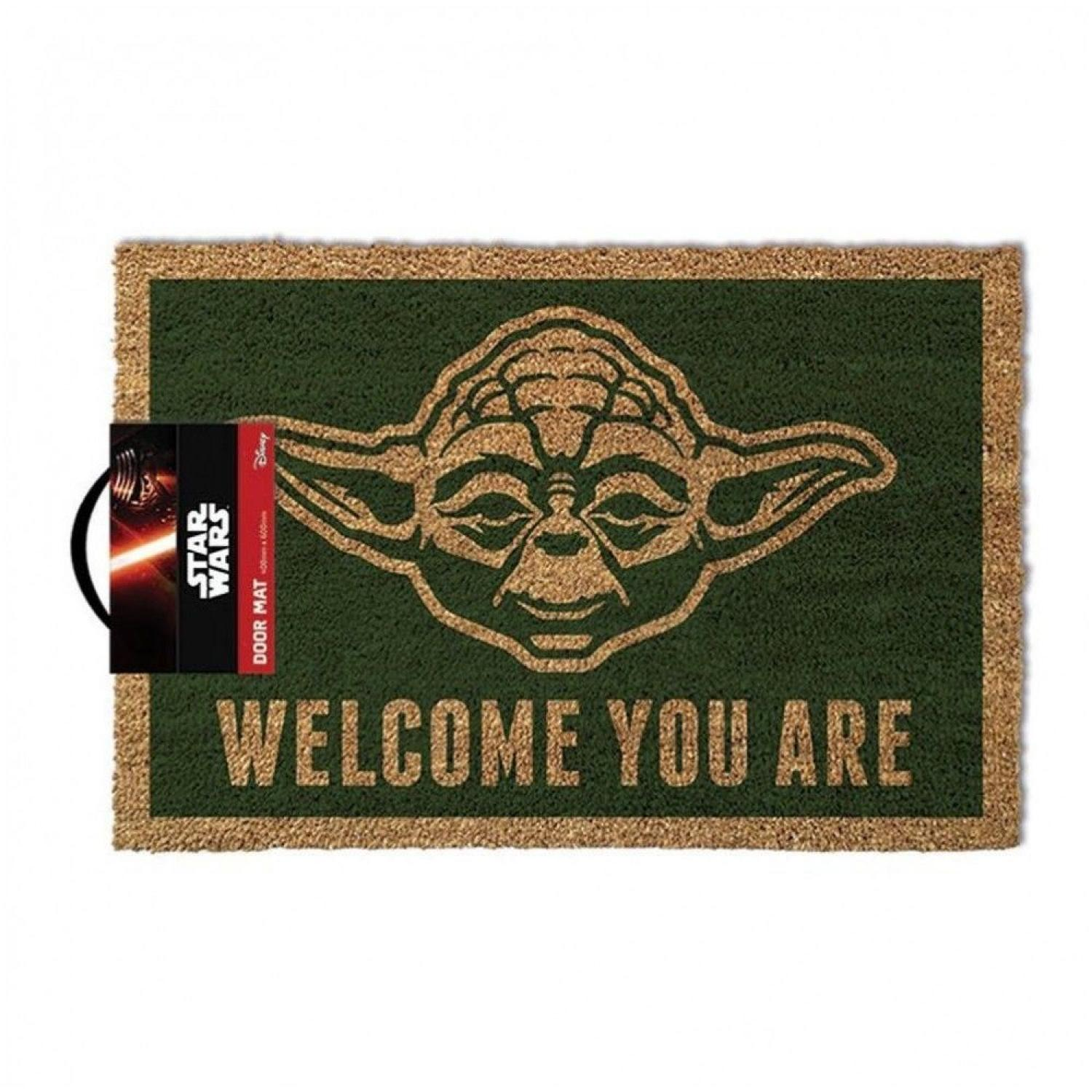 Yoda Coir Mat (Welcome You Are)