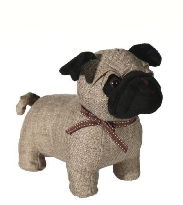 Fabric Standing Pug Door Stop