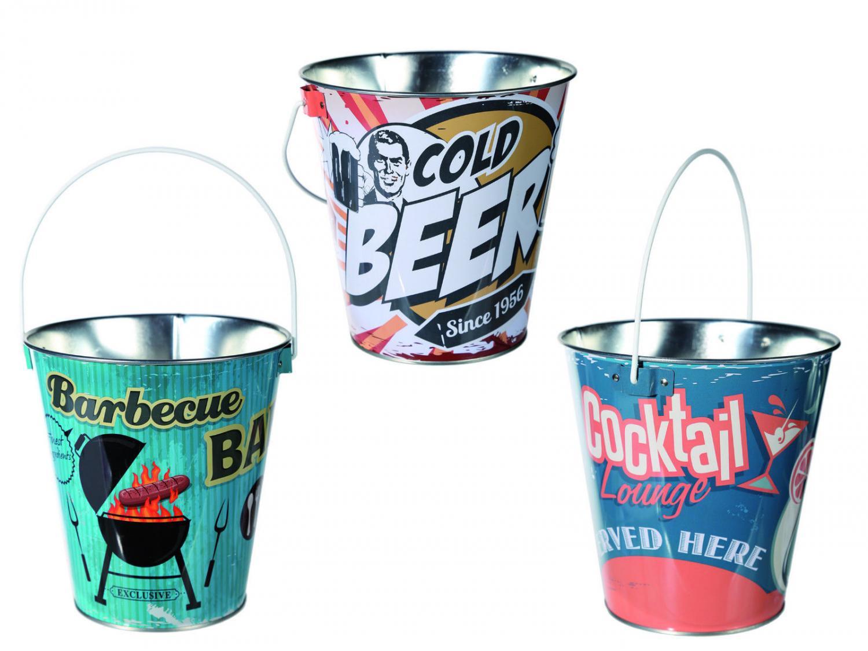 Retro Style Ice Buckets
