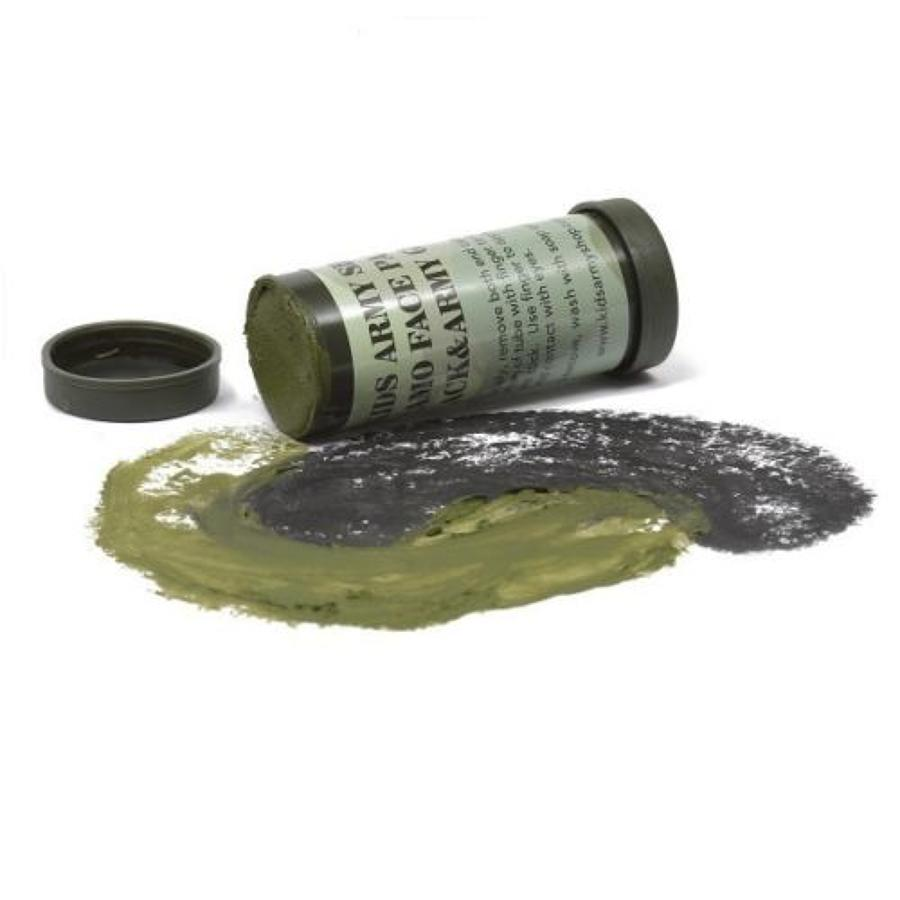 Camo Two Colour Face Paint Stick