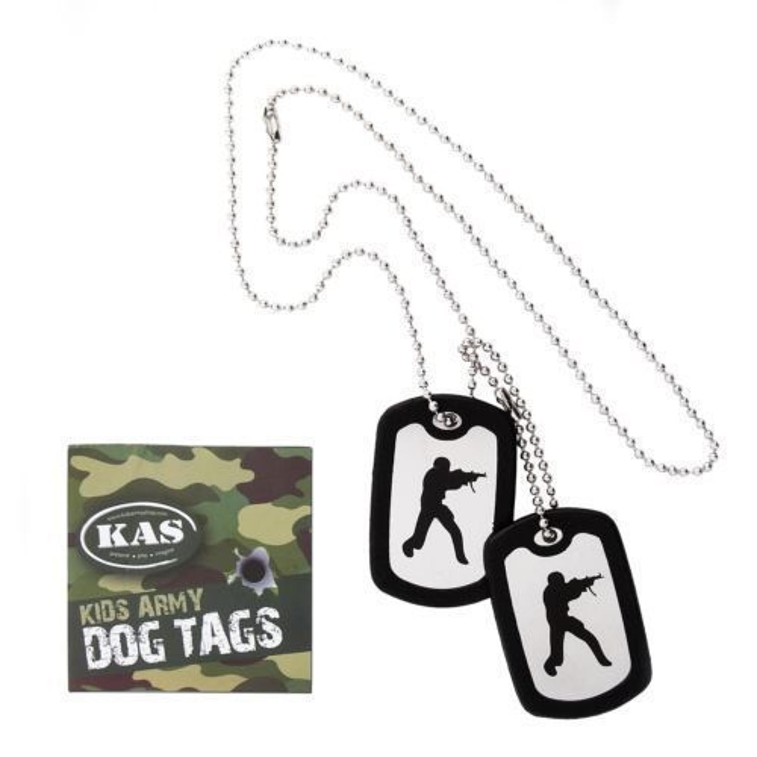 Kids Army Style Dog Tags