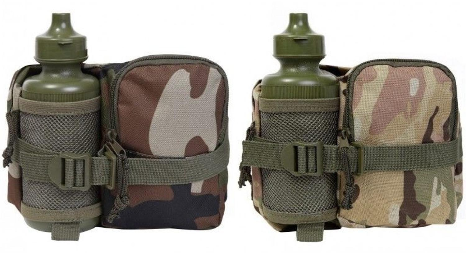 Kids Army Waist Bag & Water Bottles