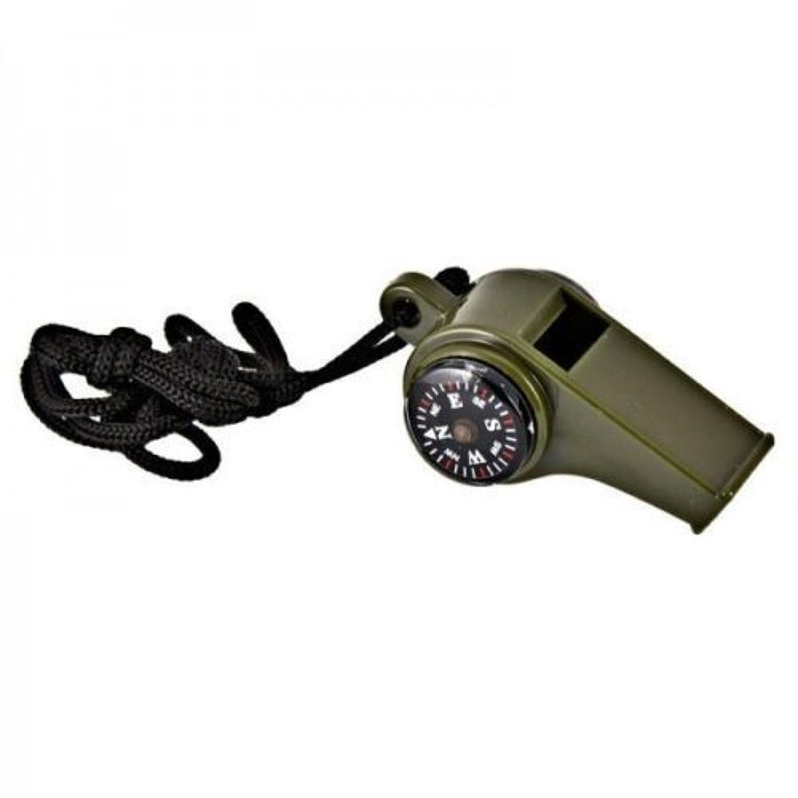 Army Olive 3 in 1 Whistle