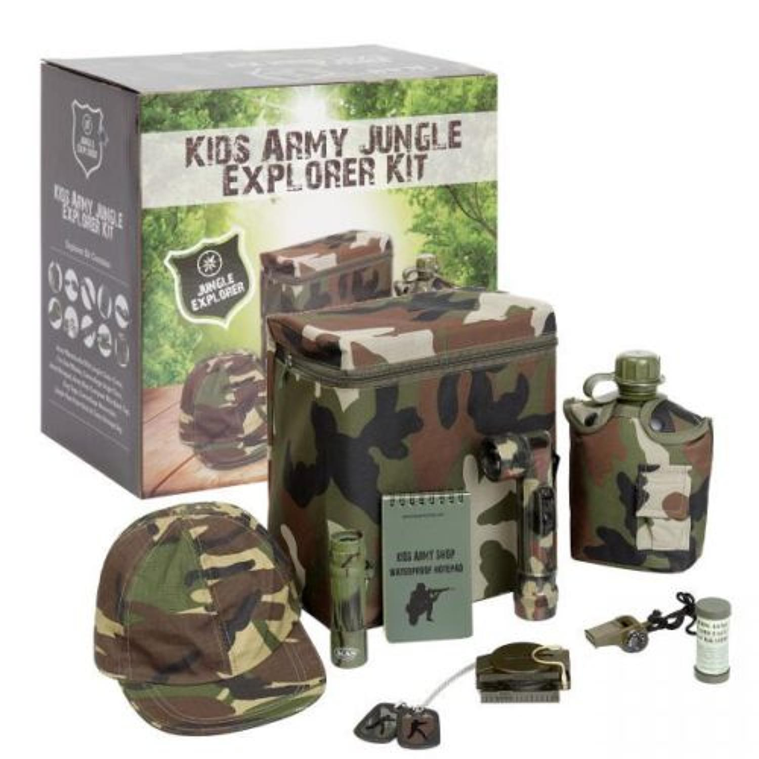 Military Jungle Explorer Kit
