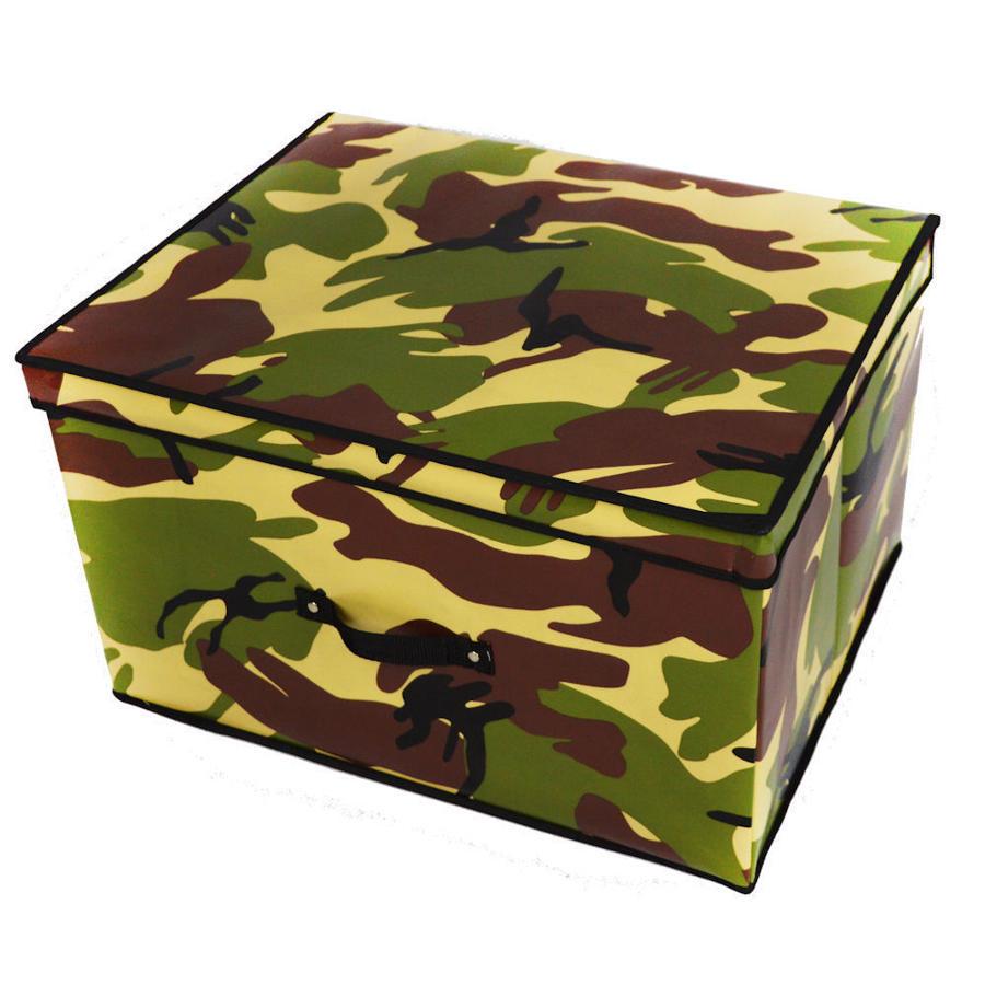 Camouflage Folding Toy Box