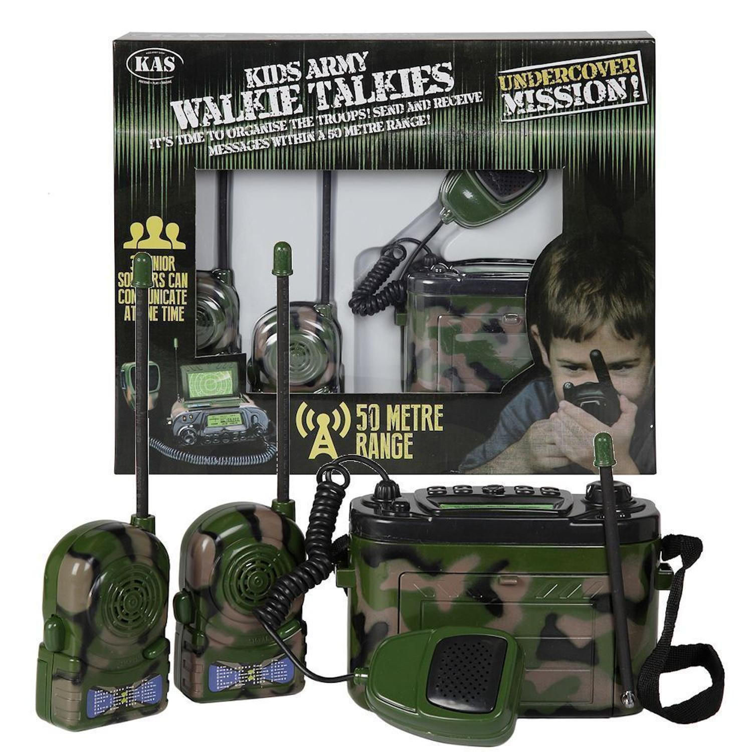 Army Walkie-Talkies with Base