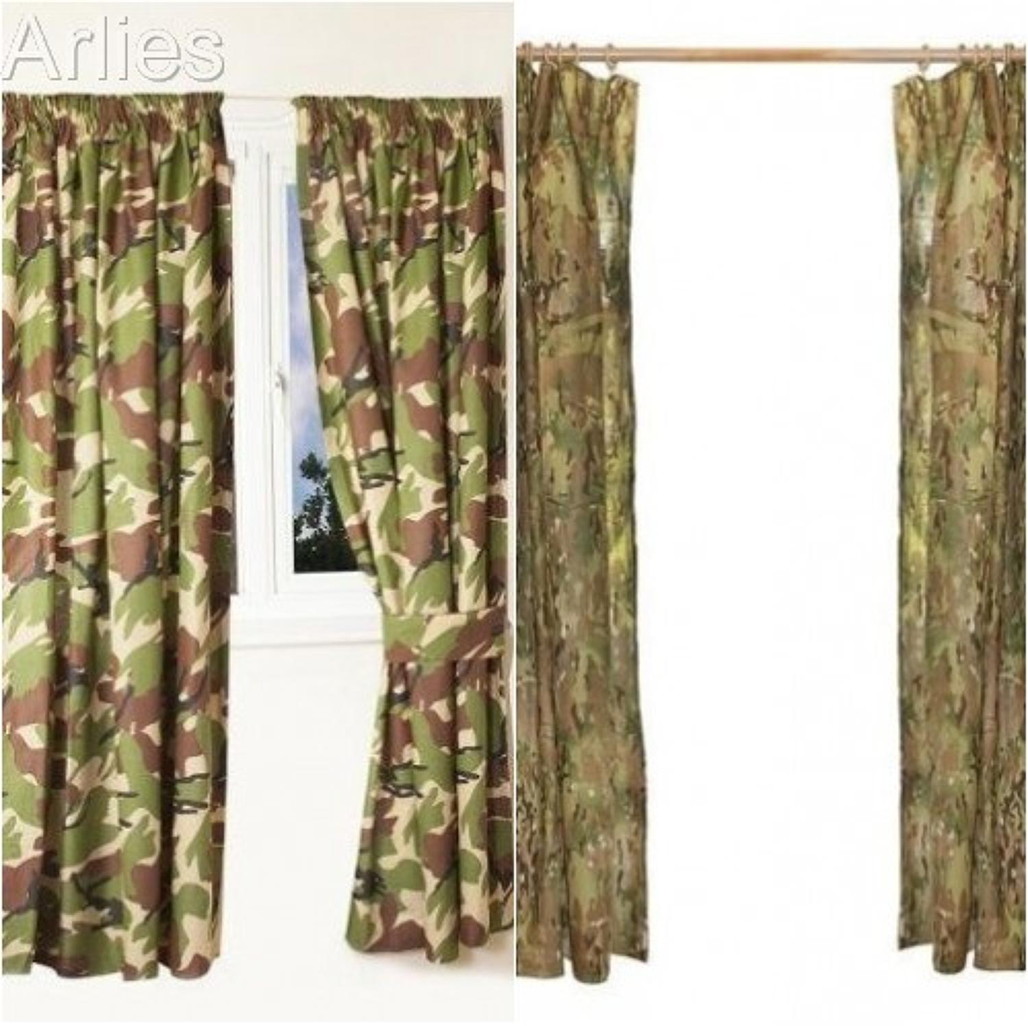 Camouflage Curtains