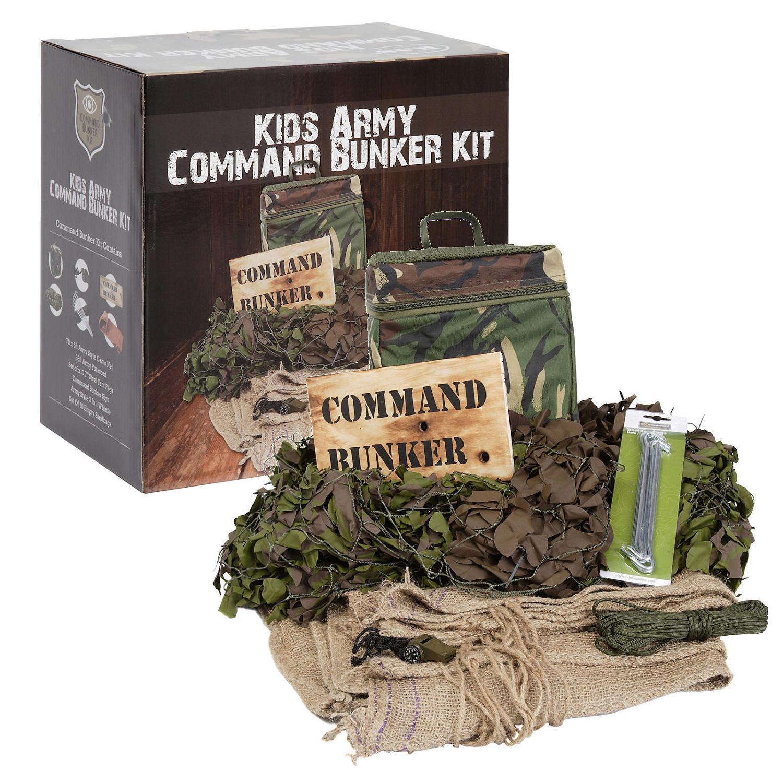 Command Bunker Den Making Kit