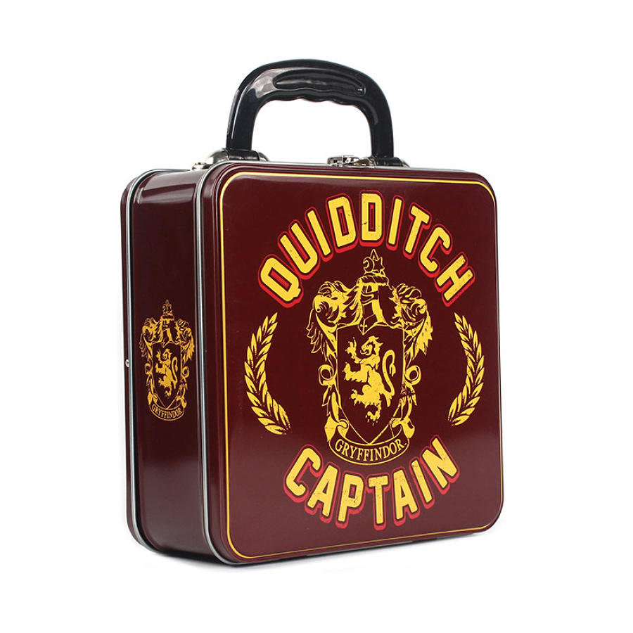Harry Potter Quidditch Captain Square Tin Tot