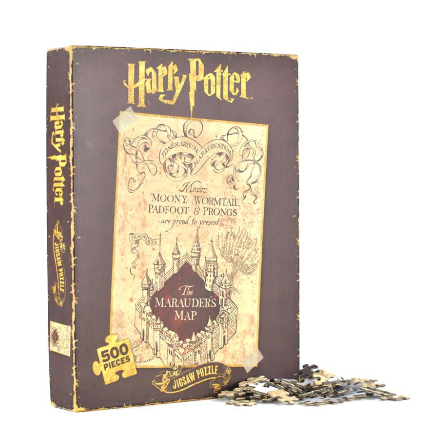 Harry Potter Marauder's Map 500 Piece Jigsaw