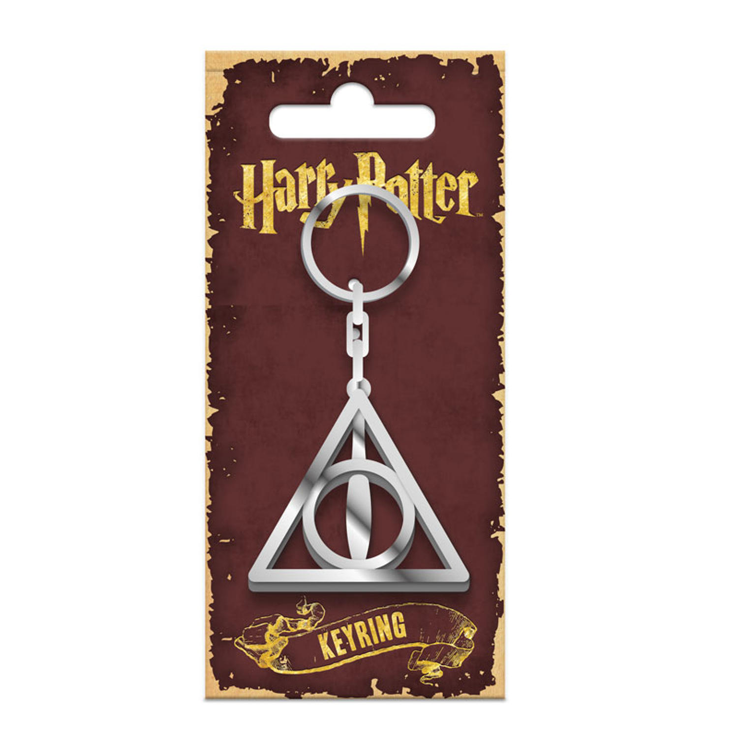 Harry Potter Key Ring (Deathly Hallows)