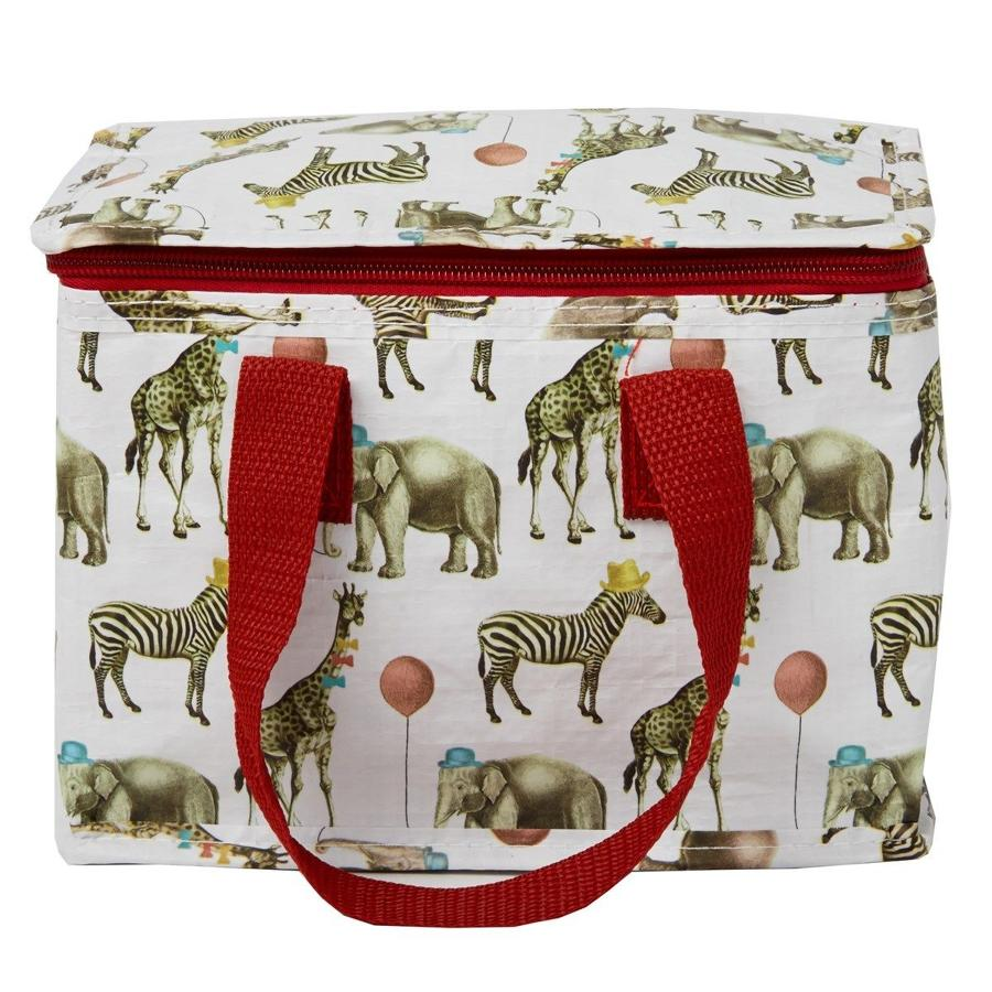 Party Animals Insulated Lunch Bag